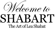 Welcome to Shabart: te Art of Lea Shabat
